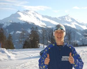 Headern på bloggen har hängt i sedan 2010. Harald Aas tog bilden när vi var nere på Dolomitenlauf.