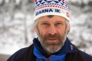 Thomas Wassberg är fortfarande en hängiven funktionär i Åsarna och var närvarande hela helgen.
