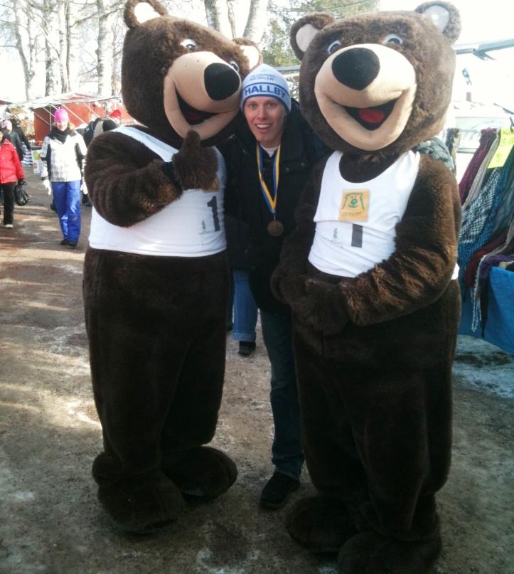 Jag försöker få bukt med min björnskräck
