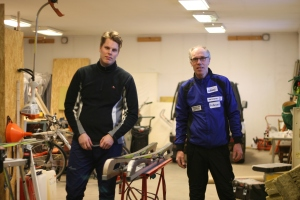 Hallbys vallateam: Micke Johansson och Thor-Björn Lund