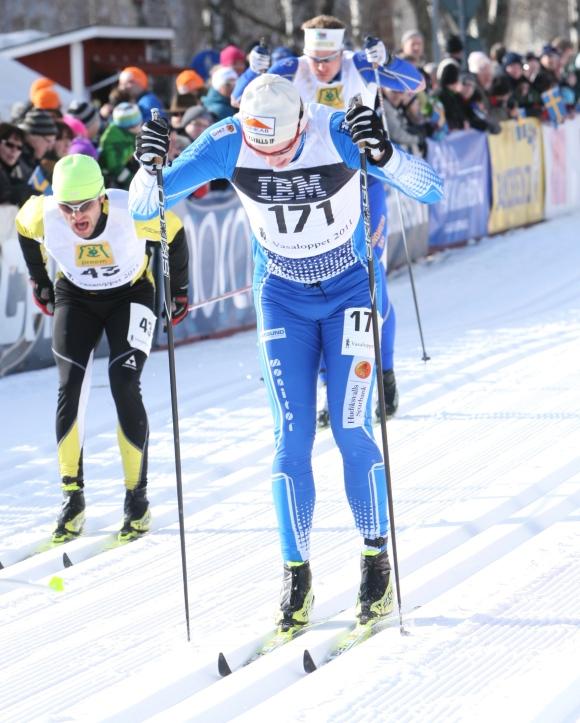 Anton Järnberg mot mål