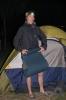Vi avlutade dagen med en tältnatt på en camping i södra spetsen av Gardasjön.