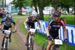 Spurtar mot Pontus Johansson, Cykloteket Racing Team.