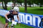 Martin Eckervads kamera hann knappt med i farten.