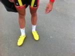 De gula skorna lär inte trampat Ränneslättsturens samtliga 78 km denna dag.