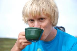 Arvid Nordquists kokkaffe är magiskt ovanför trädgränsen.
