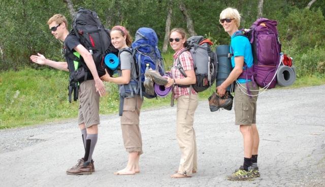Tillbaks i Storulvån efter att ha vandrat Jämtlandstriangeln.
