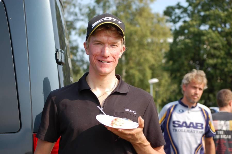 Lars Bleckur vann Finnmarksturen och kan titulera sig svensk mästare i marathon-SM på MTB.