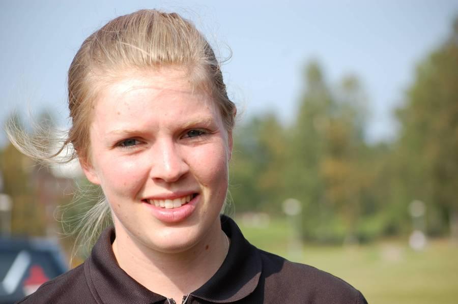 Angelica Edvardsson vann Finnmarksturen och kan titulera sig svensk mästarinna i marathon-SM på MTB.