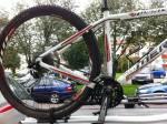Jag hade förmodligen tävlingsklassens tyngsta (12,5 kg) och minst tvättade cykel. Jag tvättar bara min MTB efter långloppen, aldrig annars.