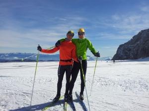 Barnen i Ski Team Syd, även kallade K1 och K2.