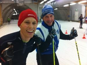 Olle Häggdahl och Andreas Gustafsson tillhör kategorin snabbisar. Med en härlig positiv attityd och en sjuhelvetes träningsvilja. De kommer att slakta deras respektive bästa Vasaloppsplaceringar i vinter.