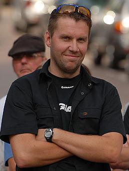 Fredrik Lindström. Foto: Jörgen Jarnberger.