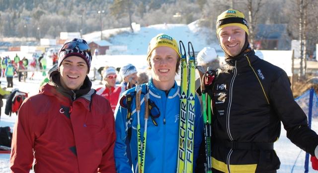 Tre pojkar från Ulricehamns IF: en skåning, en bloggnarkoman och en lång.