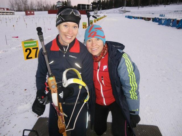 Anna Maria och Ida krigade i Östersund