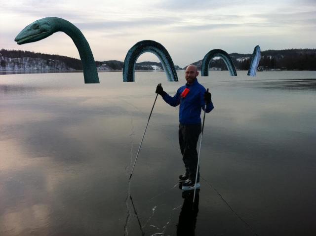 Min vän Tobias Magnusson hade en trevlig tur på Viaredssjön igår.