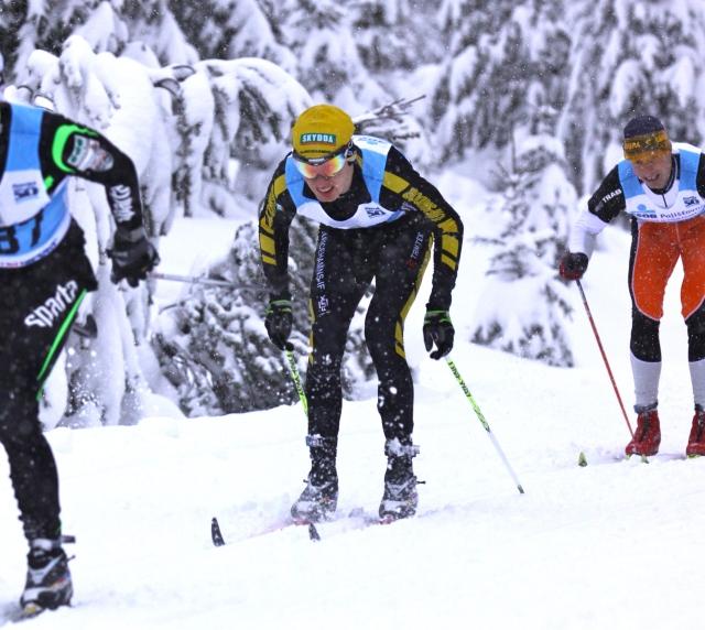 Erik Wickström i Jizerska Padesatka 2012