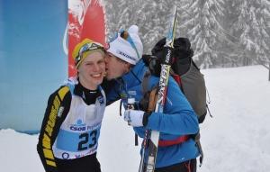 Mathias Fredriksson gav mig en puss idag. Det var nog för att jag slog Jörgen Brink.