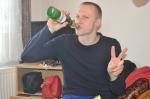 Martin Josefsson firar att ha åkt sin första skidtävling sedan Vasaloppet 2010