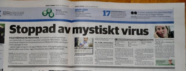 Hanna Falk kanske åker SM. Första tävlingen är dagens 30 km dubbeljakt.