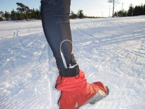 Elektriska skosulor och skoöverdrag räddar ofta mina Alaska-kalla fötter. Särskilt då man stakar och inte använder benen.