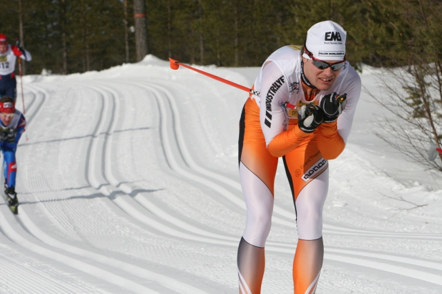 Jimmie Johnsson i Vasaloppet 2010