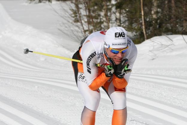 Håkan Löfström i Vasaloppet 2010.