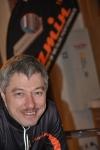 Leonid Kuzmin var också på mässan vid nummerlappsuthämtningen.