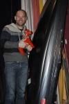 Jonas Hagberg vann en takbox som 1:a i H35