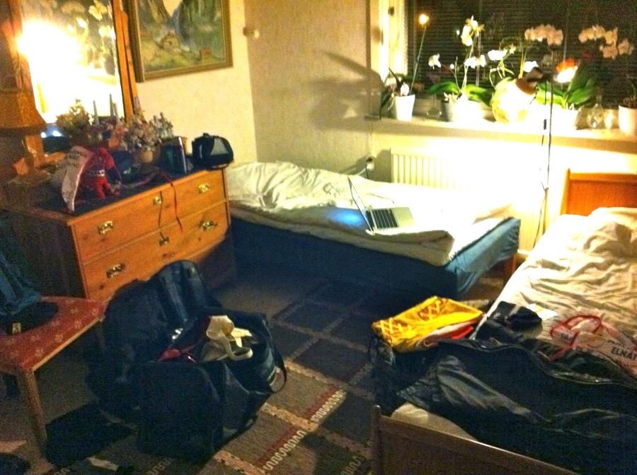 Olles och mitt rum