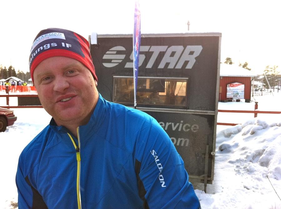 Andreas Forneman, vallare och försäljare på Star. Snäll kille som gav mig dricka två gånger.