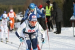 Maria Rydqvist efter innan vägövergången i Oxberg