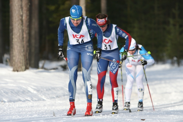 Sara Lindborg drar före Anna Haag och Jenny Hansson