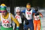 Annika Löfström med nummer 8 är Håkans bror