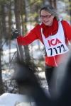 Svärmor in action. Hon persade genom att skida in på 3:46:41