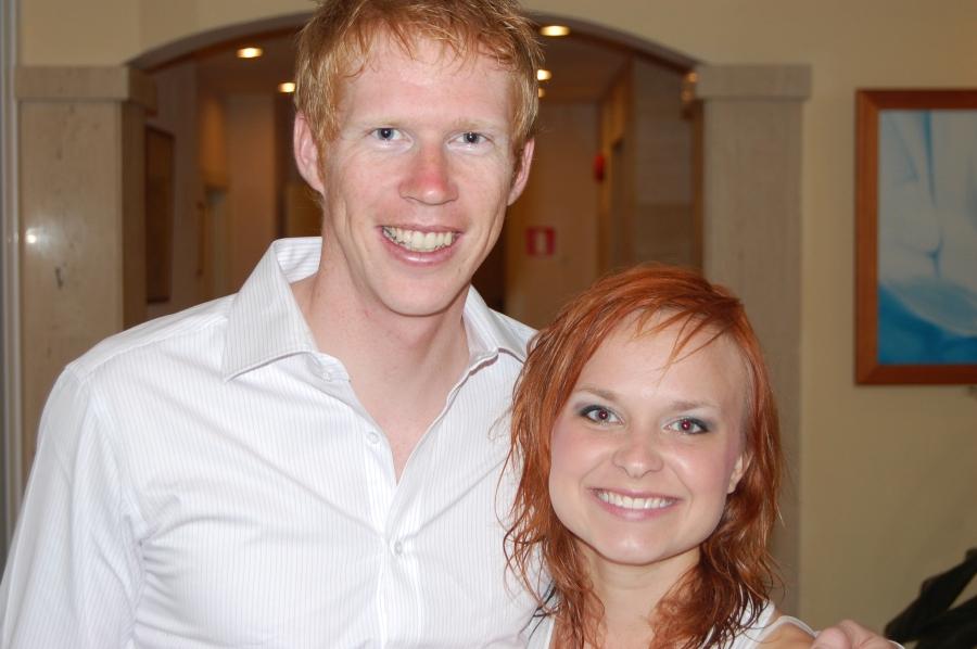 Mattias Nilsson och Åsa Pettersson (Idas lillasyster) träffades för första gången på Mallorca 2008 och resten är historia.