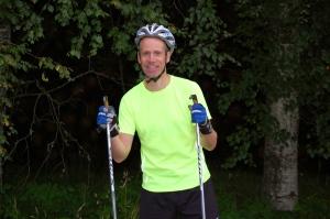 Tomas Karlsson var glad efter att skidat som aldrig förr i Fäders Spår. Här från i höstas.