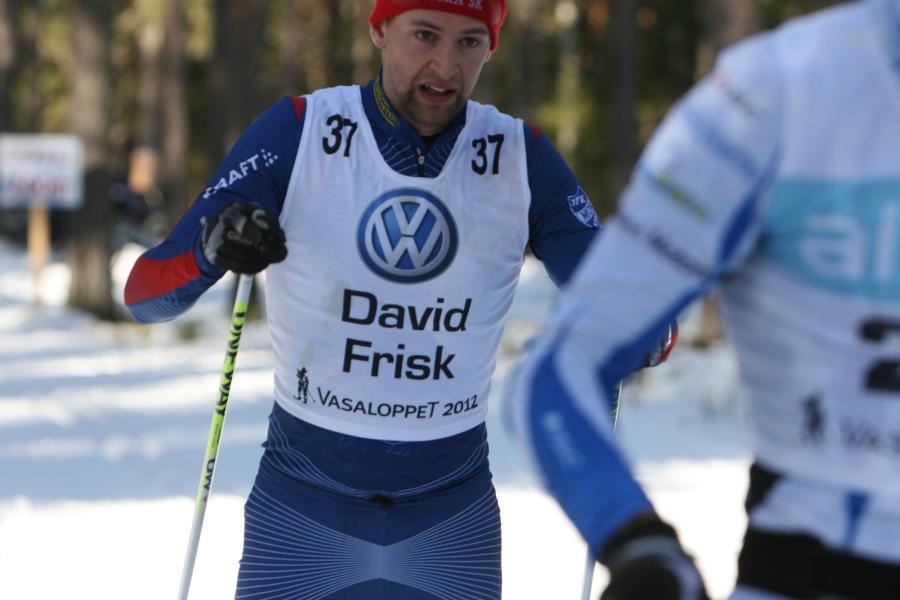 David Frisk har åkt sjukt bra två år i rad
