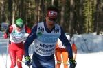 Martin Johansson kan både skidor och orientering