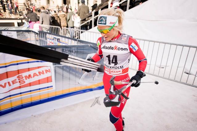 Therese Johaug och det vita norska klistret