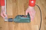 Ett vasst verktyg för stavspetsarna.