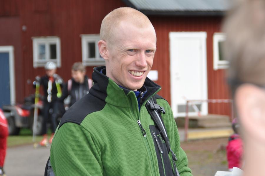 Oskar Lund sprang