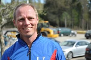 Per Löwendahl efter Sjömarksloppet i helgen.