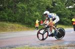 Gustav Larsson på tempocykel