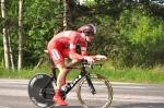 Edwin Wilsson, från Tranemo, åker för CykelCity