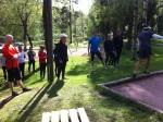 Stenåldersträning vid Kypesjön