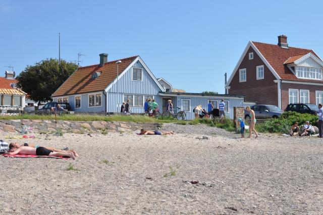 Familjen Bergengrens stuga i Torekov. Se jäkla fint!
