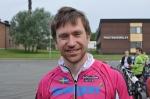 Stefan Sunnerberg körde i en ny, snygg tempodräkt