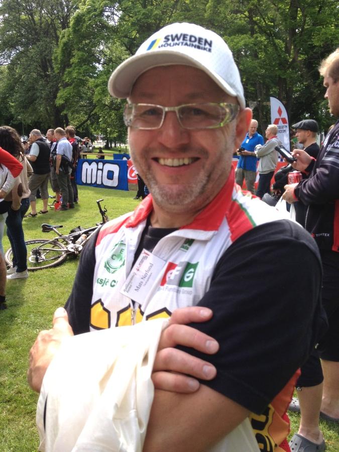 Tävlingsledare Mats var mycket trevlig och höll i fantastiskt bra tävlingar. Heja Ränneslättsturen och Långloppscupen!