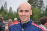 Mattias Fritz från Karlslund. En av mina tidigare adepter. Kul att ses IRL för första gången.